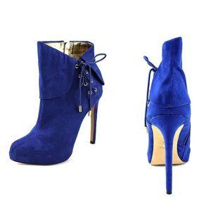 Thalia Sodi Ohlivia Women Cobalt Booties